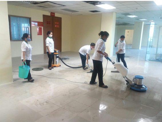 Dịch vụ vệ sinh công nghiệp Cleanhouse