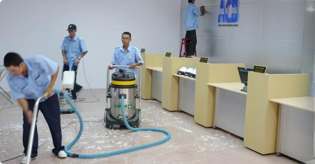 Dịch vụ chuyên nghiệp của vệ sinh công nghiệp Cleanhouse