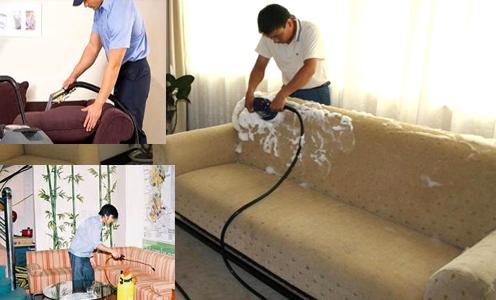 Dịch vụ giặt ghế sofa theo yêu cầu