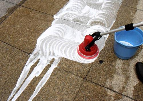 máy chà sàn mini Motor scrubber công suất vượt trội