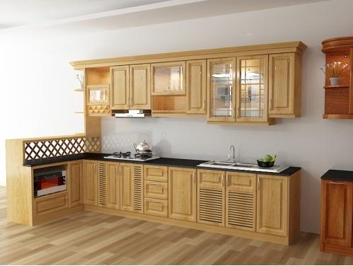 Mẹo vệ sinh tủ bếp gỗ đơn giản