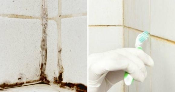 tẩy vết ố phòng tắm - mẹo vặt gia đình