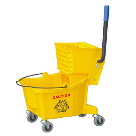 Xe đẩy vệ sinh Hc040D - dụng cụ vệ sinh công nghiệp