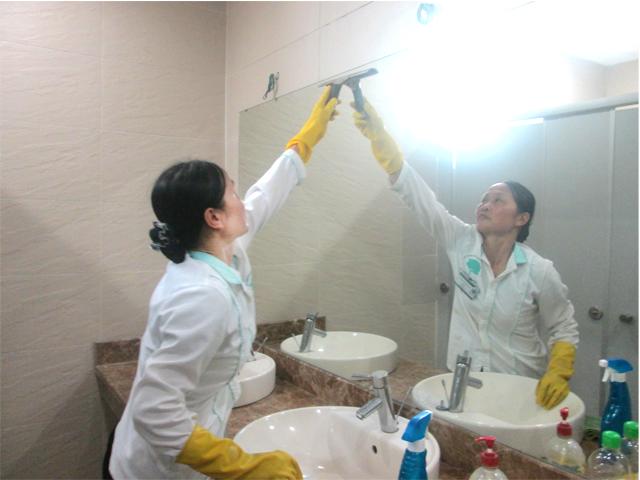 Dịch vụ vệ sinh làm sạch hàng ngày