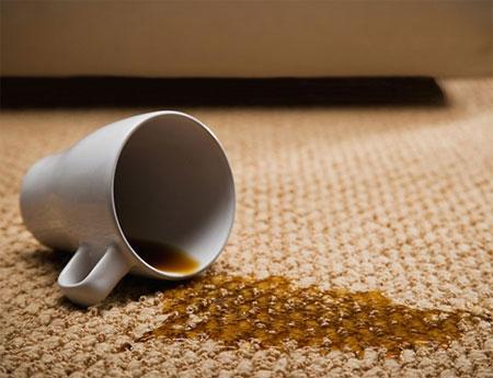 Mẹo tẩy rửa các vết bẩn trên thảm