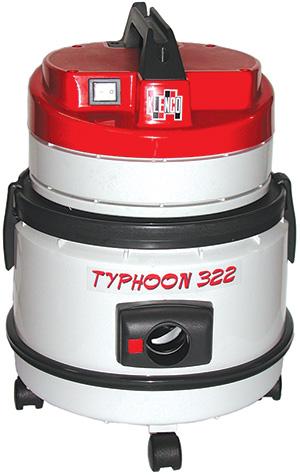 Máy hút bụi khô và ướt công nghiệp Typhoone 322