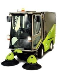 Máy quét đường công nghiệp chuyên dụng Green Machine 636