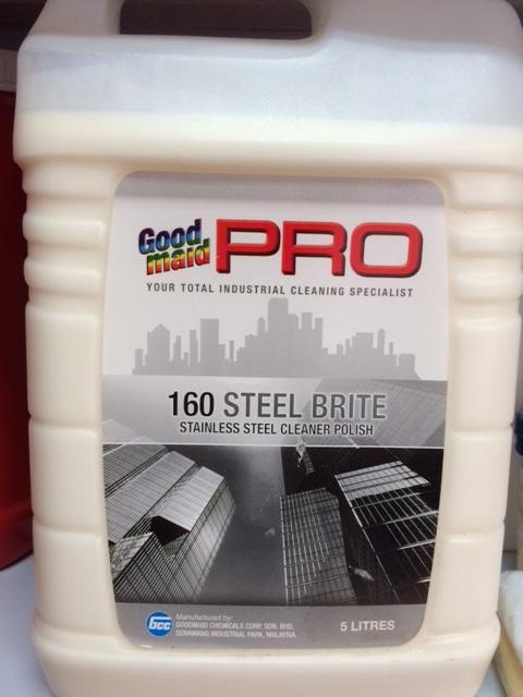 Hóa chất đánh bóng kim loại STEEL BRITE - G160