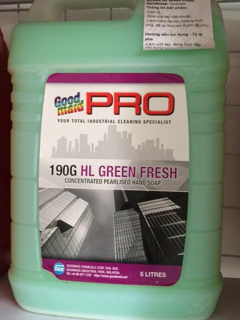 Nước rửa tay Green Fresh - G190