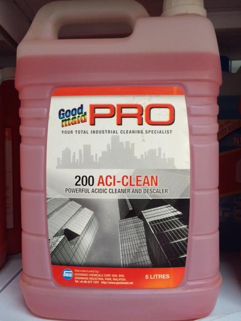 Hóa chất tẩy rửa nhà vệ sinh ACI CLEAN G200